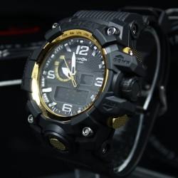 Reloj de Pulsera CQ negro