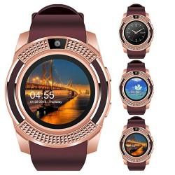 Reloj de Pulsera Geneva acero inoxidable color oro rosa