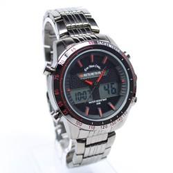 Reloj de Pulsera Geneva color negro con strass