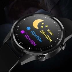 Reloj LED Modell Strada Blau