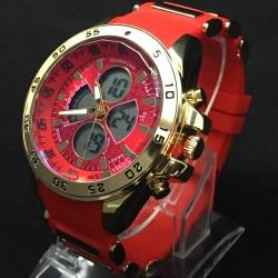 Reloj de Pulsera EMC JJ Rojo