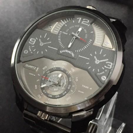 Reloj de Pulsera estilo piloto aviador - esfera blanca