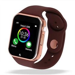 Reloj inteligente A-01 marrón