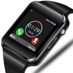 Reloj inteligente A-01 negro